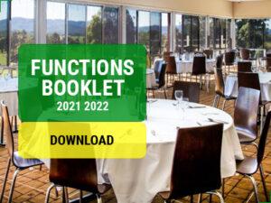 Functions Booklet Murwillumbah Golf Club
